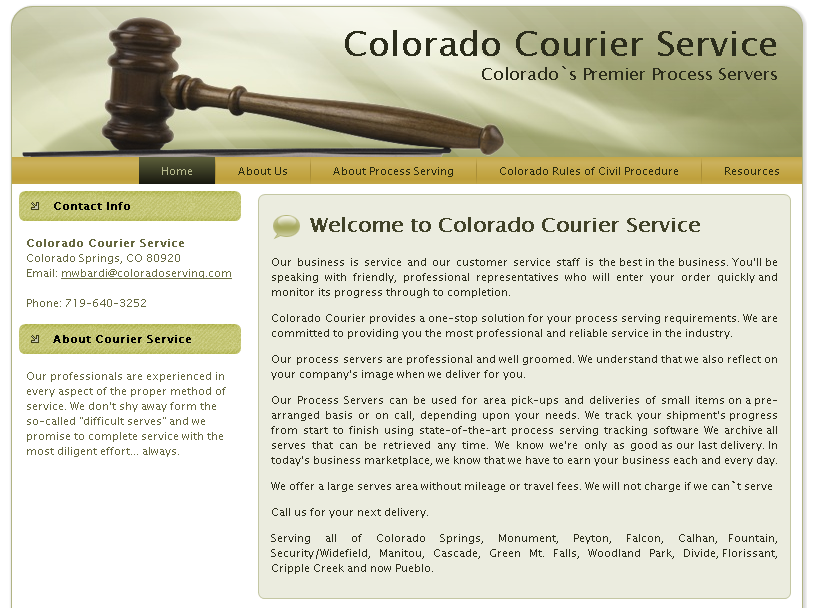 ColoradoCourierWebsite